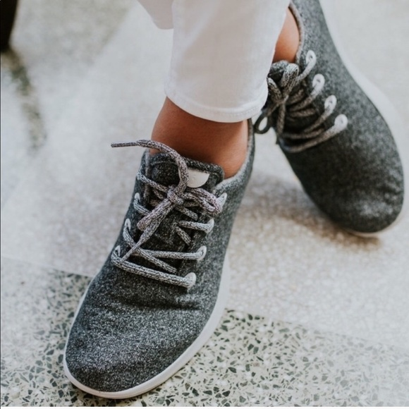 Allbirds Gray Wool Runners No Laces